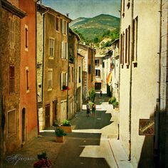 Street in Provence - Castellane, Southern France | by © Transmontano
