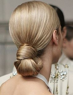 Sleek Wedding Chignon