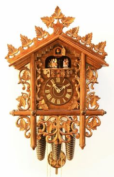 Cuckoo Clock 8 Day Movement Chalet Style 53 cm by Rombach Haas | eBay