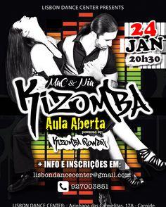 Aula Aberta na LISBON DANCE CENTER daqui a nada! #kizombapower @lisbondancecenter @nia_kizombapower #kizomba