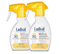 Piel de los niños y piel atópica | LadivalLadival