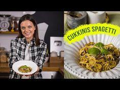 Olasz cukkinis spagetti 👌🇮🇹🍝 - YouTube Spagetti, The Creator, Mint, Breakfast, Beverages, Seasons, Food, Youtube, Summer