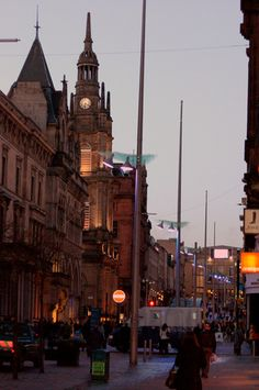 Buchanan Street, Glasgow I have walked this street a hundred times Oh the memories