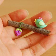 Fimo bird