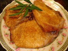Simple Rosemary-Rubbed Pork Chops Recipes — Dishmaps