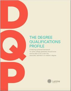 The Degrees Qualifications Profile