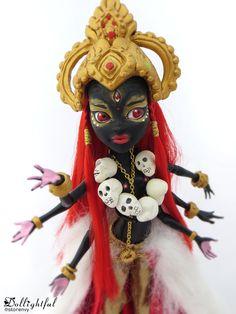 The Goddess Kali from #Dollightful (Katherine Murray) #ooak #monster #high…