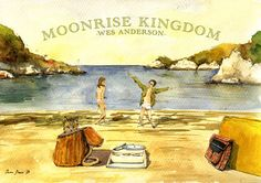 POSTER PRINT Moonrise Kingdom Wes by SanMartinArtsCrafts on Etsy