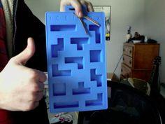 Tetris ice tray! (: