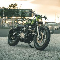 Dope: Nozem Amsterdam's old school XS650 | Bike EXIF