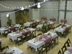 Italian Party Decorations Ideas | Italian Dinner Party Decorations Ideas Market lights and string