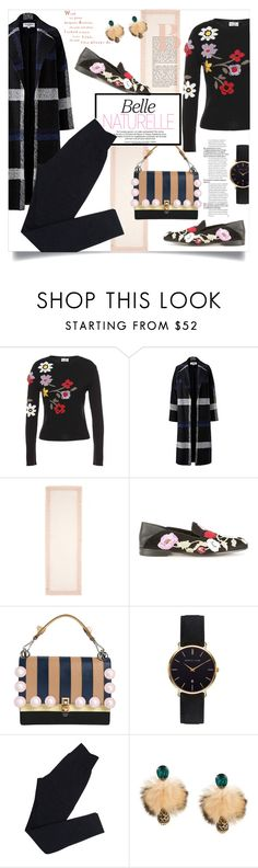 """In Bloom: Dark Florals I"" by celeste-menezes ❤ liked on Polyvore featuring RED Valentino, Helene Berman, Franco Ferrari, Alexander McQueen, Fendi, Abbott Lyon, Wolford, Dolce&Gabbana and darkflorals"