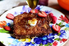 The Best Crunchy French Toast Ever! Like, totally.