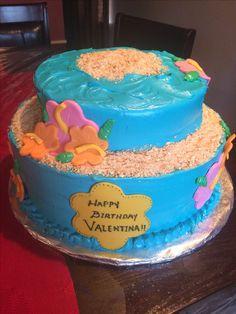 Moana' Birthday Cake
