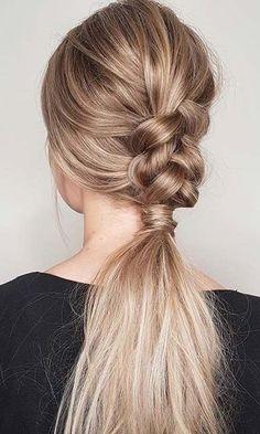 Plaited ponytail ideasEasy braided ponytail hairstylebraided ponytail Braid p Braided Ponytail, Ponytail Hairstyles, Cute Hairstyles, Wedding Hairstyles, Hairstyle Ideas, Ponytail Ideas, Hairstyles 2016, Braid Hair, Party Hairstyles