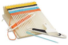 mini portable loom for car trips and cheap therapy