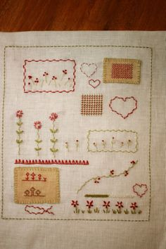 Fred's Wife  SAL Mon Cahier de Broderie