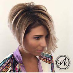 Bij het zien van deze 10 trendy korte kapsels krijg jij zeker weten zin in een date met jouw kapper! - Pagina 9 van 10 - Kapsels voor haar