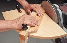 This sanding jig will be perfect for sanding adirondack legs.