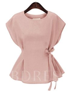 Women Blouse Shirt Summer Blouse Plus Size 2019 Short Sleeve Casual Ladies Tops Plus Size Linen Female Blusas White New Mode Outfits, Casual Outfits, Fashion Outfits, Shirts & Tops, Shirt Blouses, Bow Shirts, Formal Blouses, Summer Blouses, Summer Tops