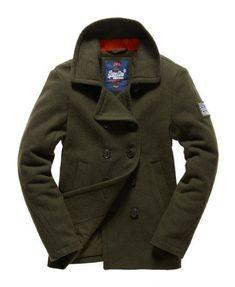 Giacche | Hot Superdry Rookie Pea Coat E73j7509