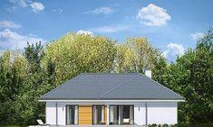 Dom nawiązuje stylistycznie do Solar Panel Cost, Best Solar Panels, Bungalow House Design, Modern House Design, Landscaping Melbourne, Landscaping Work, House Plans Mansion, Cottage Plan, Facade House