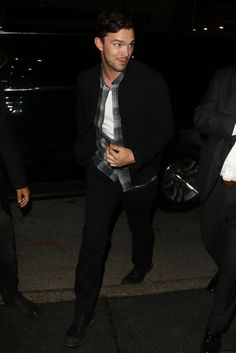boyzoo:  Nicholas Hoult at Cafe Society premiere after party (x)