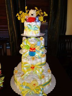 Winnie the Pooh Baby Shower Baby Shower Party Ideas   Photo 13 of 13