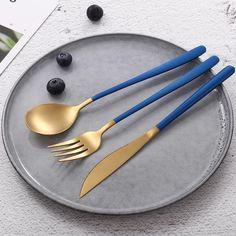 Reusable Cutlery Set (Variants) – ByeToPlastic Stainless Steel Cutlery, Cutlery Set, Brush Cleaner, Dishwasher, Tableware, Dishwashers, Dinnerware, Tablewares, Makeup Brush Cleaner