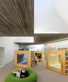 Biblioteca en Seinäjoki,© Tuomas Uusheimo