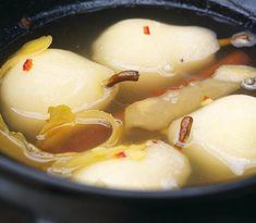 Kryddigt pocherade päron recept - CrockPot.se