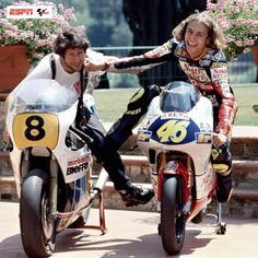 Vale and Dad!