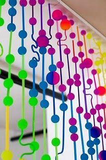 Bouncy Ball Curtain