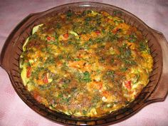 A delicious low-fat vegetable frittata for those on a diet.