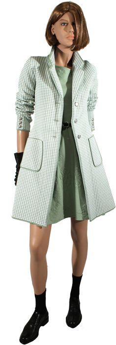 SS  - Cotton Vichy coat