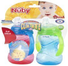 Nuby CLICK-IT 2-Handle No-Spill Trainer Cup - 8oz - 2 Pk - Boy Nuby,http://www.amazon.com/dp/B00HDODOGI/ref=cm_sw_r_pi_dp_79Ygtb0W7MAS5KMR