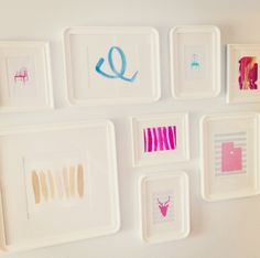 danielle oakey interiors: DIY Gallery Wall Art!