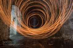 RINGS OF LIGHT - Pinned by Mak Khalaf Abstract LIGHT by zakwaldek