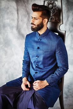 james look for the reception including the HAIR! Groomsmen Outfits, Groom Outfit, Wedding Wows, Wedding Men, Engagement Dress For Groom, Wedding Reception Outfit, Reception Suits, Indian Groom Dress, Sherwani Groom