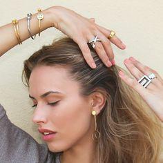 Femininity & freshness  #DesignedInSpain #anartxy #woman #joyas #Joias #Jewels #Bijoux #style #Affordable #StreetWear #bracelets #rings #earrrings