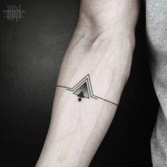 Los Mejores Tatuajes Para Hombres triángulo ideas modern