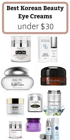 K-beauty eye creams for dark circles, puffiness and eye bags to restore your youthful look. Best anti aging products right now K-beauty eye creams for dark circles, puffiness and eye bags to restore your youthful look. Best anti aging products right now Best Anti Aging, Anti Aging Cream, Anti Aging Skin Care, Best Korean Eye Cream, Vaseline Beauty Tips, Firming Eye Cream, Retinol Cream, Eye Cream For Dark Circles, K Beauty