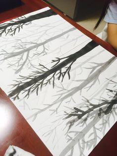 정왕/배곧 아동미술 방문미술 아트앤하트 [숲은 이렇게도 그려요] : 네이버 블로그 Art Drawings For Kids, Drawing For Kids, Easy Drawings, Art For Kids, Crafts For Kids, Art Education Lessons, Art Lessons, 4th Grade Art, Student Drawing