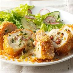 Fontina Rolled Chicken Made this from my Taste of Home magazine! It was wonderful!!!!
