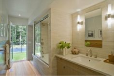 Contemporary Bathroom Tile Design Ideas, Pictures, Remodel, and Decor - page 13