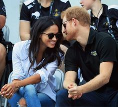 STOP WHAT YOU'RE DOING: #PrinceHarry and #MeghanMarkle have finally been photographed together and all the pictures have stopped my heart  Link in bio for more (including HAND-HOLDING ) via ELLE USA MAGAZINE OFFICIAL INSTAGRAM - Fashion Campaigns  Haute Couture  Advertising  Editorial Photography  Magazine Cover Designs  Supermodels  Runway Models
