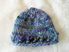 Baby Hats Knitting Knit Baby Hat Hand Knitted by CottonPickings