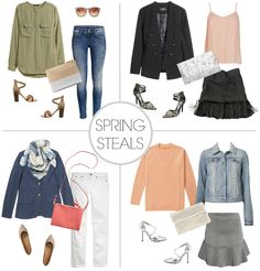 Spring Outfit Ideas (everything $20 or less!)