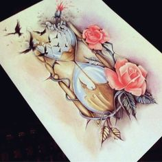 this would be a really cool and pretty tattoo! #tattoosforwomenhalfsleeve