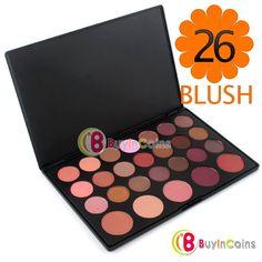 26 Color Makeup Cosmetic Blush Blusher Powder Palette -- BuyinCoins.com